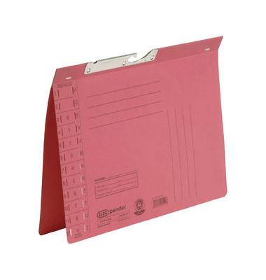 Pendelhefter A4 250g Karton rot Amtsheftung