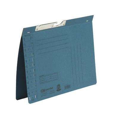 Pendelhefter A4 320g Karton blau Amtsheftung
