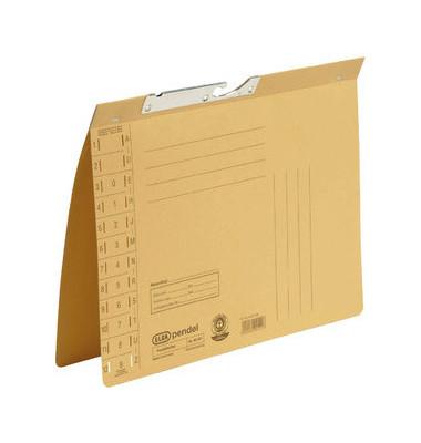 Pendelhefter A4 320g Karton gelb Amtsheftung
