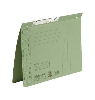 Pendelhefter 90431 A4 320g Karton grün Amtsheftung