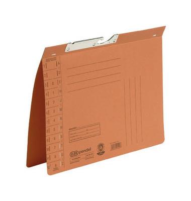 Pendelhefter 90431 A4 320g Karton orange Amtsheftung