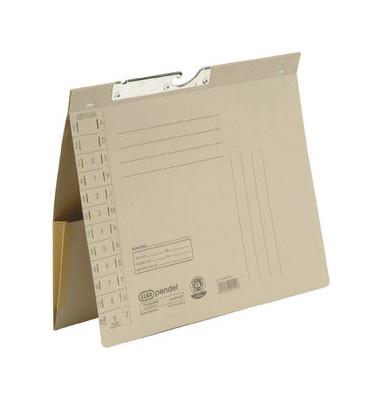 Pendelhefter 90433 A4 320g Karton grau Amtsheftung mit Dehntasche