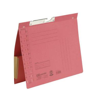 Pendelhefter 90433 A4 320g Karton rot Amtsheftung mit Dehntasche