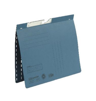 Pendelhefter 90451 A4 250g Manilakarton blau kaufmännische Heftung