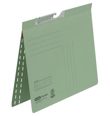 Pendelhefter 90451 A4 250g Manilakarton grün kaufmännische Heftung