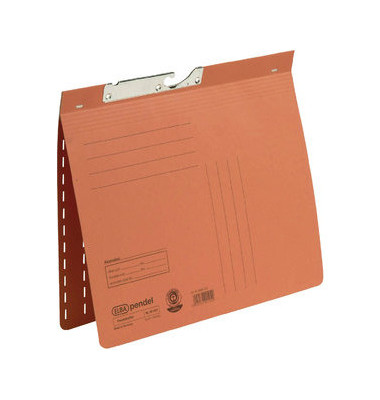 Pendelhefter 90451 A4 250g Manilakarton orange kaufmännische Heftung