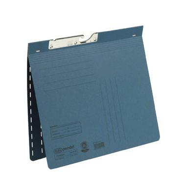 Pendelhefter A4 320g Karton blau kaufmännische Heftung