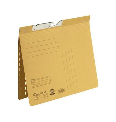 Pendelhefter 90461 A4 320g Manilakarton gelb kaufmännische Heftung