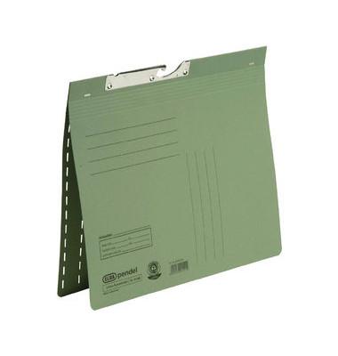 Pendelhefter 90462 A4 320g Karton grün kaufmännische Heftung / Amtsheftung