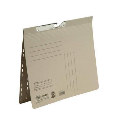 Pendelhefter 90462 A4 320g Karton grau kaufmännische Heftung / Amtsheftung