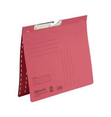 Pendelhefter 90462 A4 320g Karton rot kaufmännische Heftung / Amtsheftung