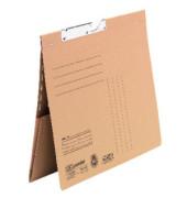 Pendelhefter 90483 A4 230g Karton beige kaufmännische Heftung mit Dehntasche