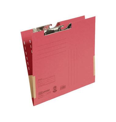 Pendeltasche 91460 A4 320g Karton rot für lose Blätter mit Leinenfröschen