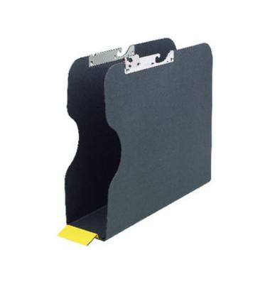 Pendelsammler 96418 A4 Karton schwarz 80mm Rückenbreite