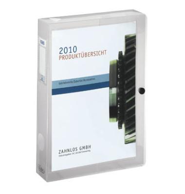 Sammelbox image+, PP-Einband farblos 330x250x40mm Druckkn.