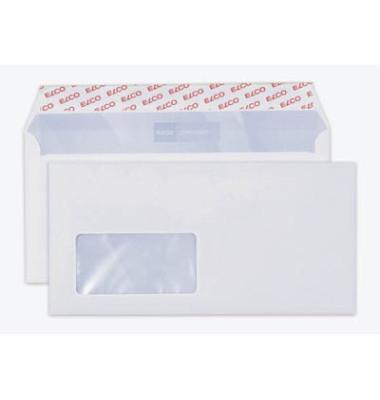 Briefumschläge Office Din Lang+ mit Fenster haftklebend 80g hochweiß 200 Stück