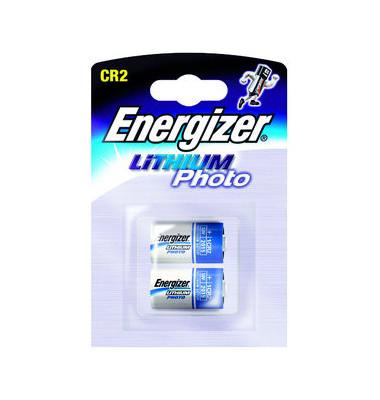 Fotobatterie Lithium Photo CR2 2 Stück