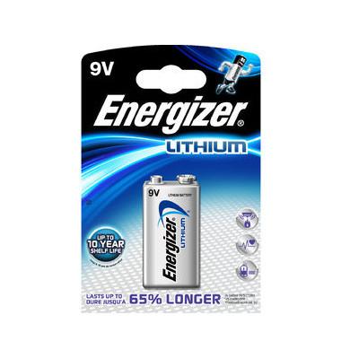 Batterie Ultimate Lithium E-Block / 6LR61 / 9V-Block