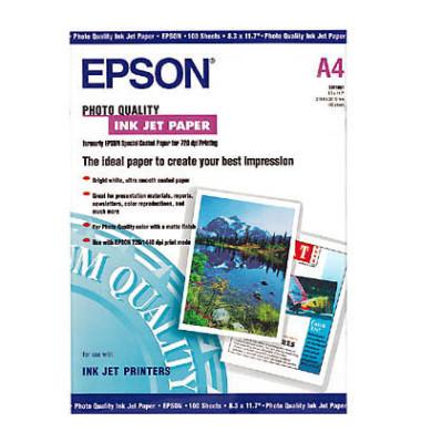 Inkjet-Fotopapier A4 S041061 einseitig matt 102g 100 Blatt
