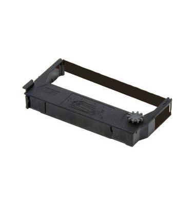 Farbband ECR23B für Kasse schwarz Nylon