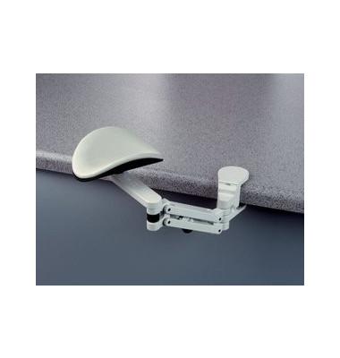 Medium Unterarmstütze mit Tischklemme grau