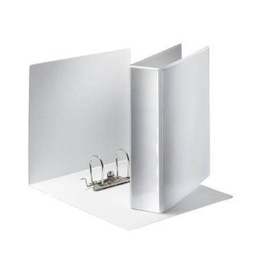 Präsentations-Ringbuch Panorama 19175 A4 weiß 2-Ring Ø 77mm Kunststoff