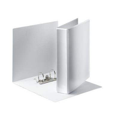 Präsentations-Ringbuch Panorama 19176 A4 weiß 2-Ring Ø 63mm Kunststoff