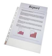 Prospekthüllen Standard Plus A4 transparent genarbt 90my oben offen 100 Stück