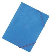 44201 Eckspannmappe A4 390g blau
