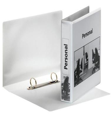 Präsentations-Ringbuch 46571 A5 weiß 2-Ring Ø 25mm