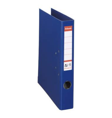 Ordner Plastik m.Einstecksch. blau A4 50mm Kunstst.