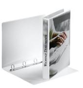 Präsentations-Ringbuch 49701 A4 weiß 4-Ring Ø 20mm Kunststoff
