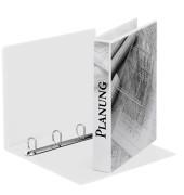 Präsentations-Ringbuch 49703 A4 weiß 4-Ring Ø 30mm Kunststoff