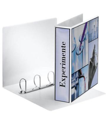 Präsentations-Ringbuch 49705 A4 weiß 4-Ring Ø 50mm