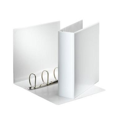 Präsentations-Ringbuch 49706 A4 weiß 4-Ring Ø 60mm