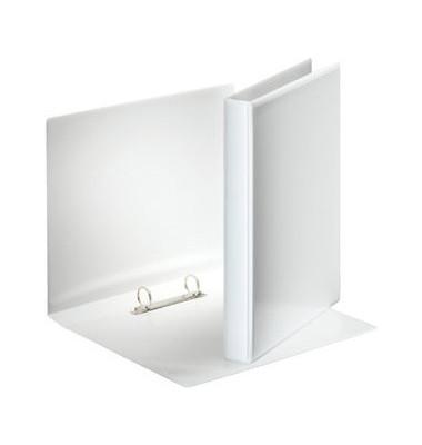 Präsentations-Ringbuch 49708 A4 weiß 2-Ring Ø 25mm