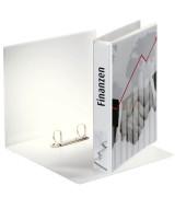 Präsentations-Ringbuch 49709 A4 weiß 2-Ring Ø 30mm