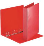 Präsentations-Ringbuch 49713 A4 rot 4-Ring Ø 30mm Kunststoff