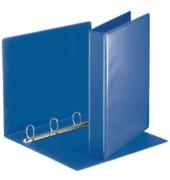 Präsentations-Ringbuch 49715 A4 blau 4-Ring Ø 30mm