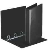 Präsentations-Ringbuch 49717 A4 schwarz 4-Ring Ø 30mm