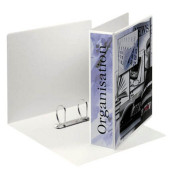 Präsentations-Ringbuch 49742 A4 weiß 2-Ring Ø 50mm