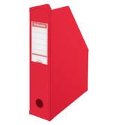 Zeitschriftenbox PVC für A4 rot 70x243x315