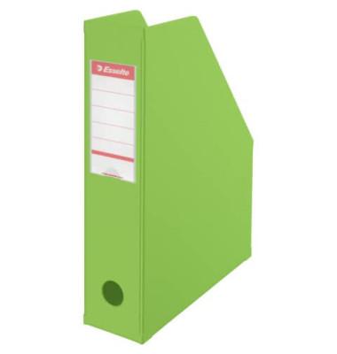 Stehsammler 56006 70x242x318mm A4 Pappe folienkaschiert grün