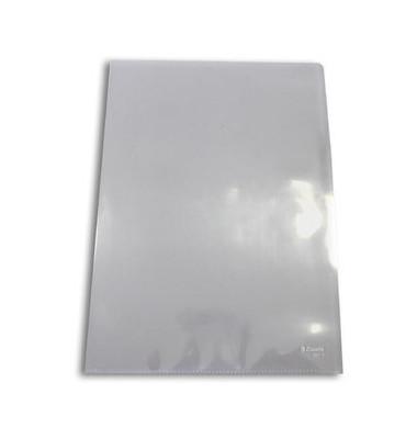 Sichthüllen Standard Plus 56218, A4, farblos, glasklar-transparent, glatt, 0,11mm, oben & rechts offen, PP