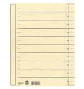 Trennblätter 621017 A4 chamois 200g 100 Blatt Recycling