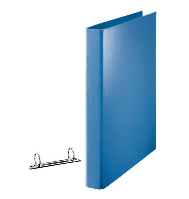 Ringbuch 82325 A4 blau 2-Ring Ø 25mm