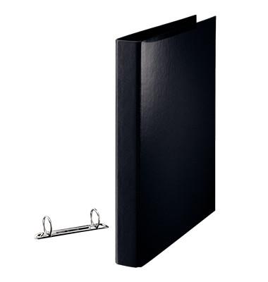 Ringbuch 82327 A4 schwarz 2-Ring Ø 25mm