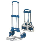 Klappkarre 1732 tragfähig bis 125kg silber/blau 48x32cm Aluminium/Kunststoff