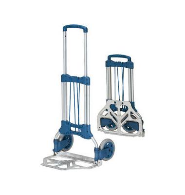 Klappkarre 1732 silber/blau 48x32cm tragfähig bis 125kg