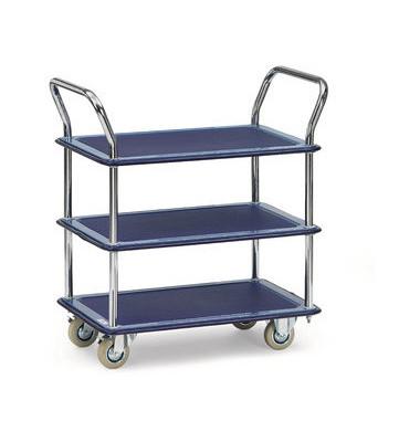 Transportwagen 3113 blau Tragkraft 120 kg